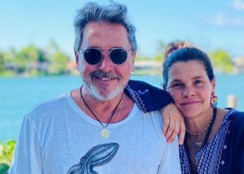 Ricardo Montaner y su esposa Marlene Rodriguez posando para sus redes sociales. Foto: Instagram @montaner