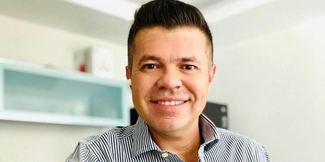 Exvocalista de la 'Arrolladora Banda El Limón', Jorge Medina. Foto Instagram @j_medina37