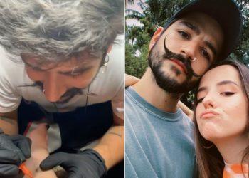 Camilo Echeverry y Evaluna Montaner