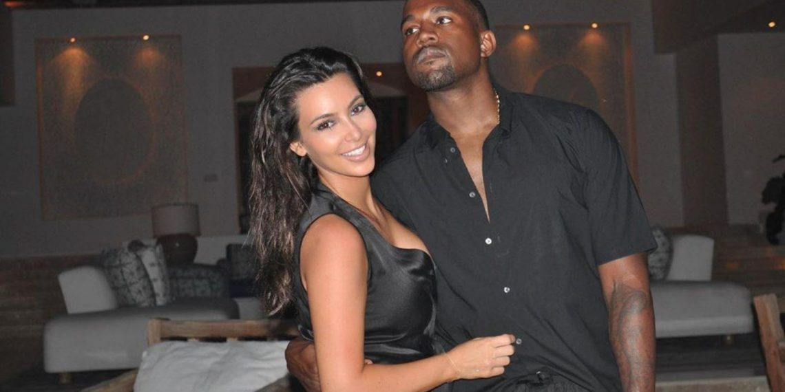 Kim Kardashian llorando por discusión con Kanye West