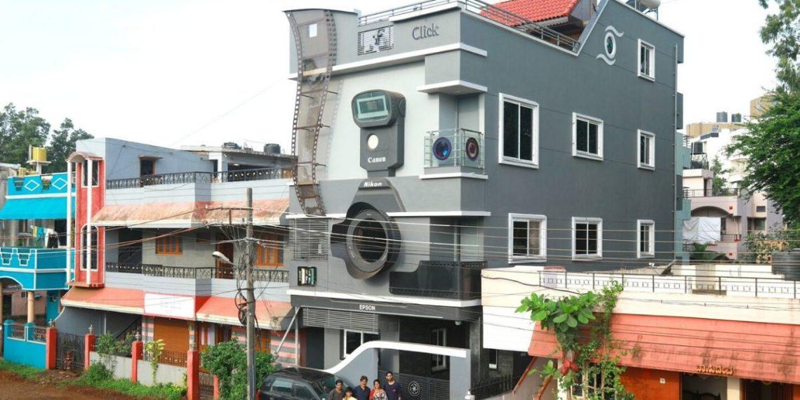 Casa cámara