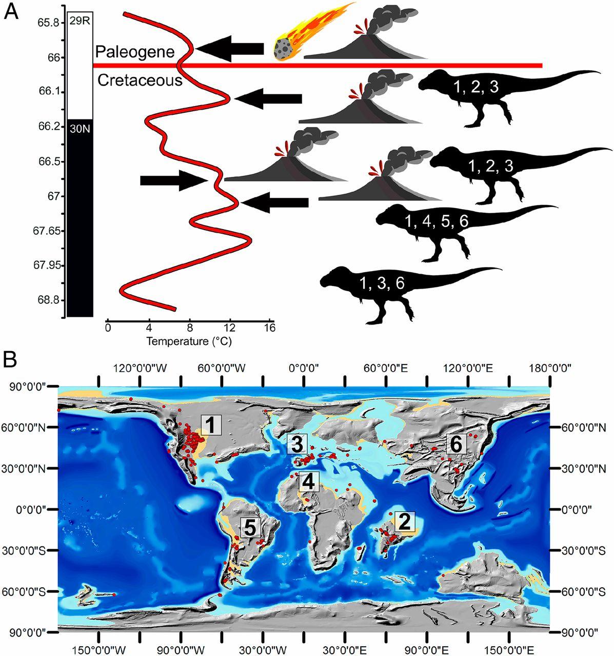 Extinción dinosaurios