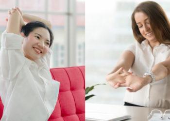 ejercicios en el trabajo