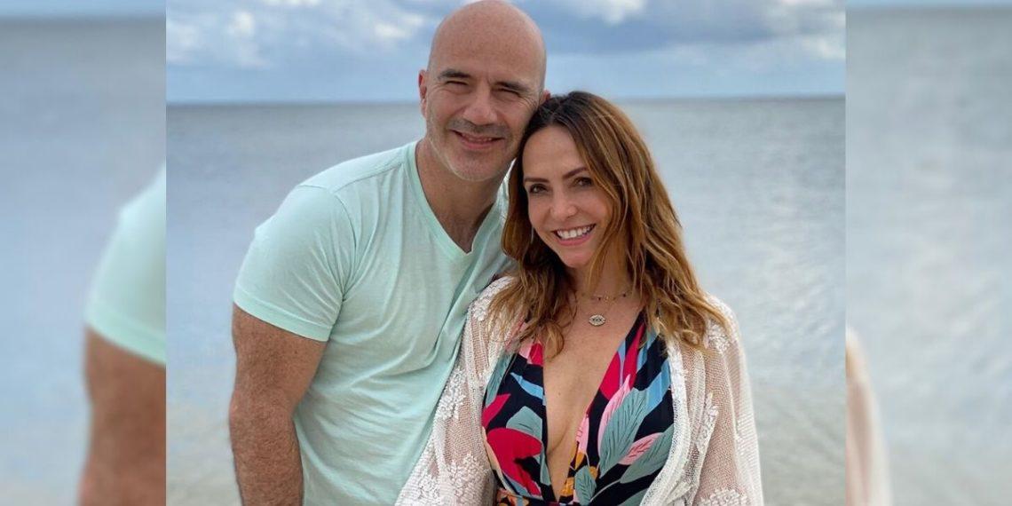 Érika Zaba junto a su esposo. Foto: Instagram/ erikazaba