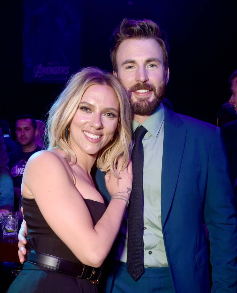 scarlett y chris