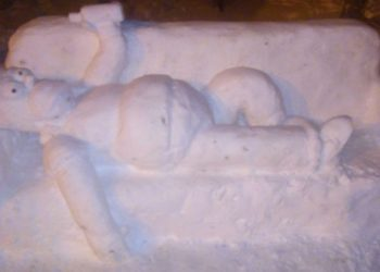 Homero nieve