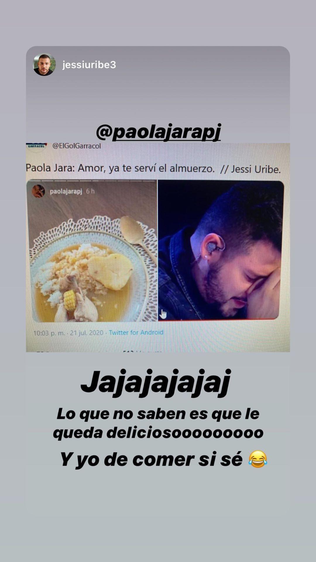 Jessi Uribe El sudado de pollo de Paola Jara