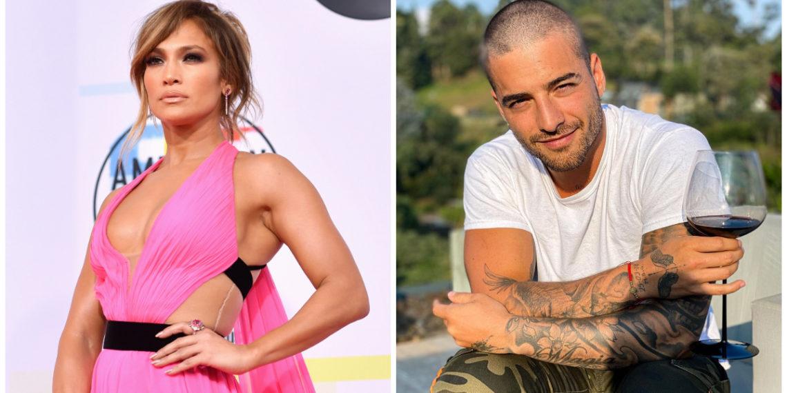Jennifer Lopez y Maluma. Foto: AFP -Instagram/ maluma