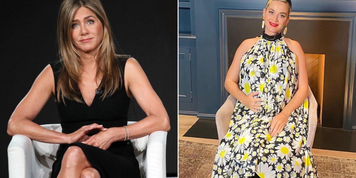 Katy Perry le habría ofrecido a Jennifer Aniston ser la madrina de su hija