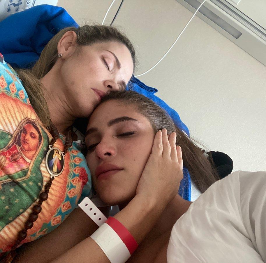 mamá de Mara Cifuentes tiene un tumor cerebral