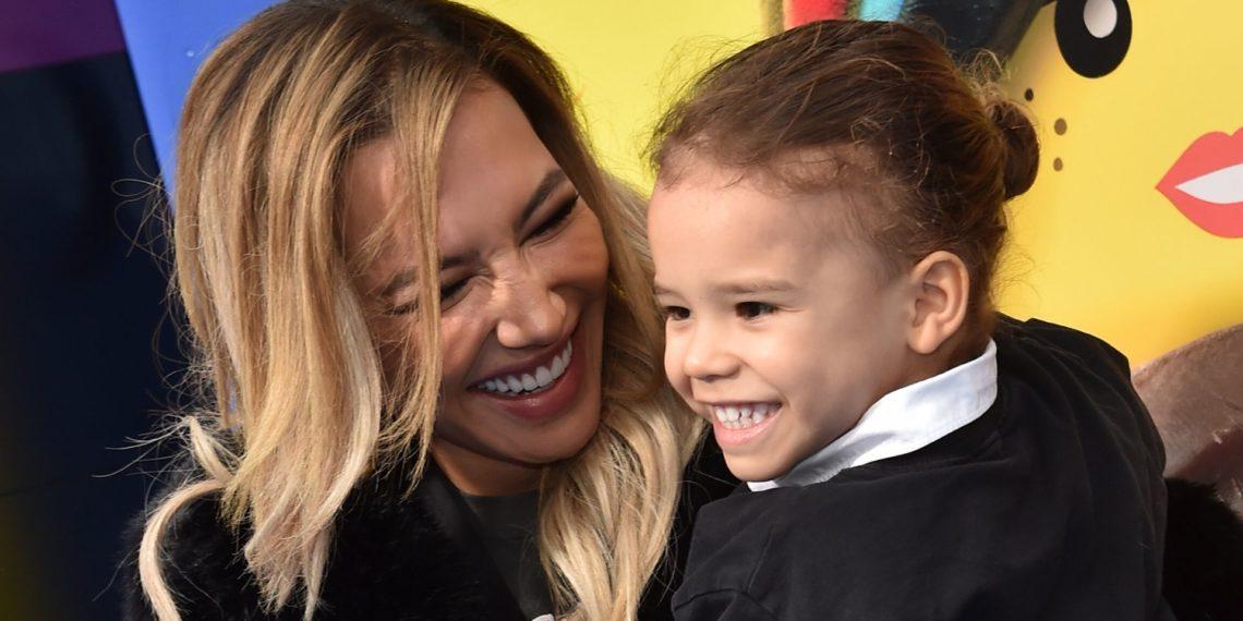 Naya Rivera y su hijo Josey Dorsey.