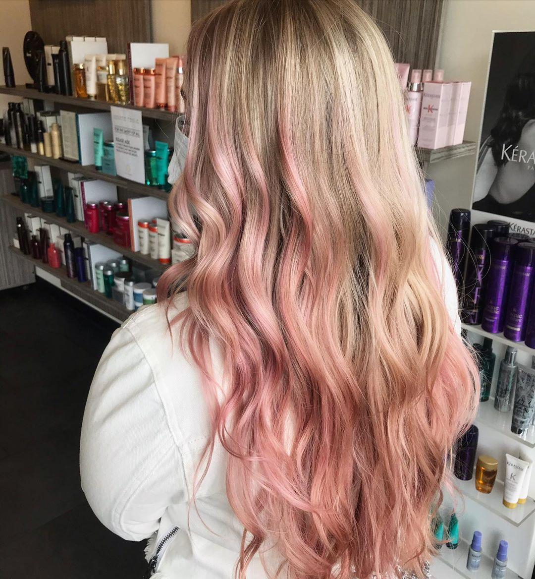 melena rosada