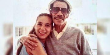 Ramón Valdés y su hija Carmen Valdés