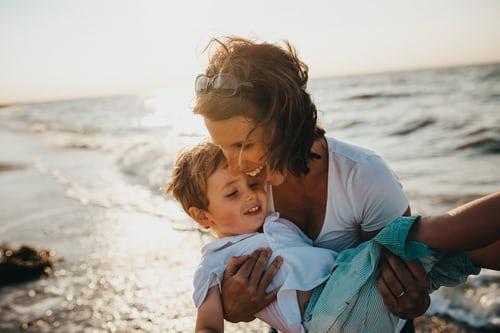 Madre de reencuentra con su hijo