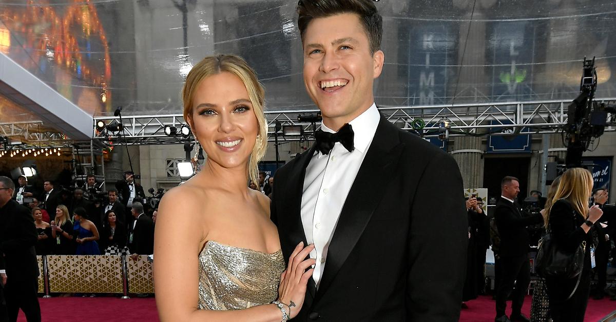Scarlett Johansson y Colin Jost poliamor