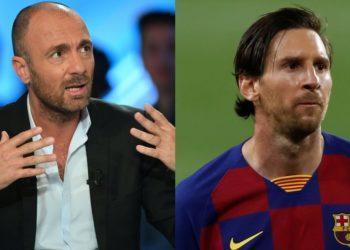 """Dugarry le dice que Messi es """"medio autista"""" y que mide """"1.50"""""""