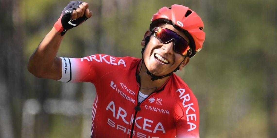 El ciclista Nairo Quintana sufre accidente mientras entrenaba