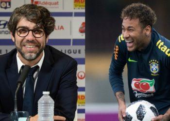 Juninho Pernambucano, del Olympique Lyon, le dedica palabras a Neymar