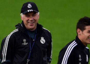 Carlo Ancelotti quiere a James, pero no cree que salga del Real Madrid
