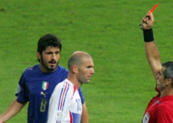 Cabezazo de Zidane a Materazzi: cinco expulsiones icónicas en Mundiales
