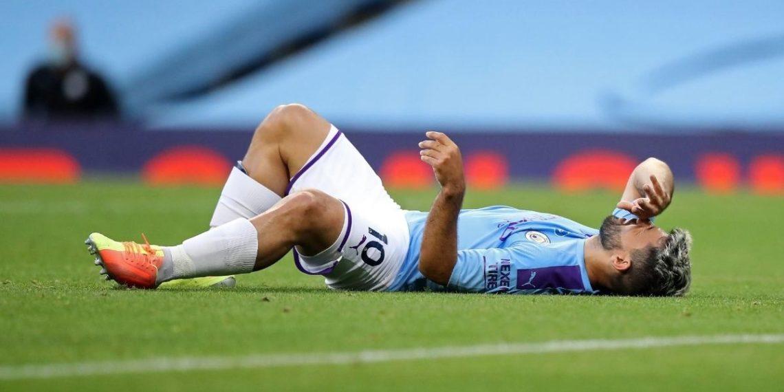Lesión del Kun Agüero no le permitirá enfrentar al Real Madrid