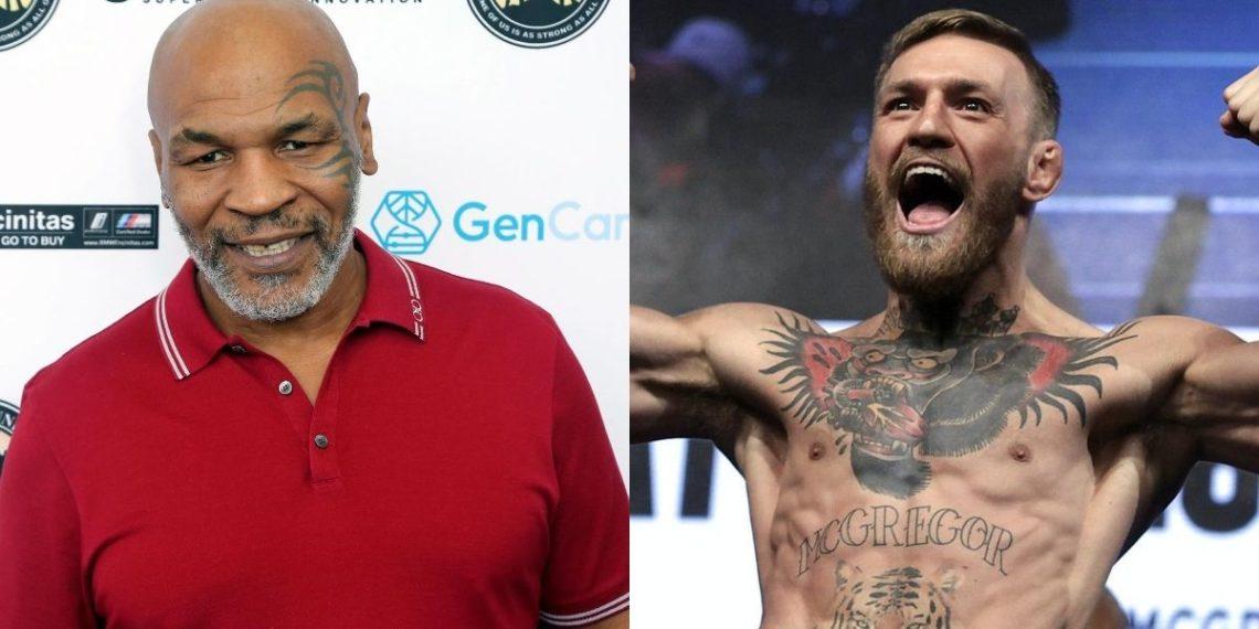 Mike Tyson lanza reto y amenaza a Connor McGregor