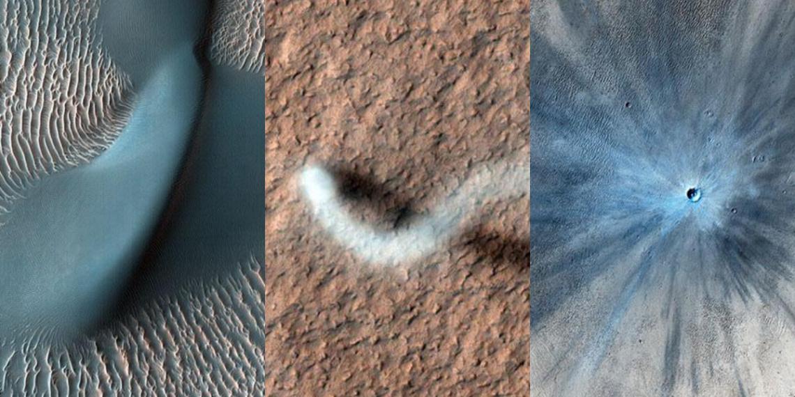 NASA fotos Marte