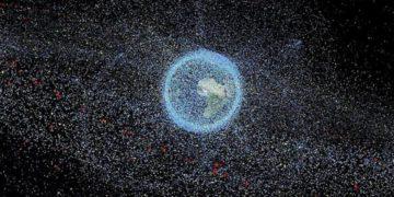 La basura espacial