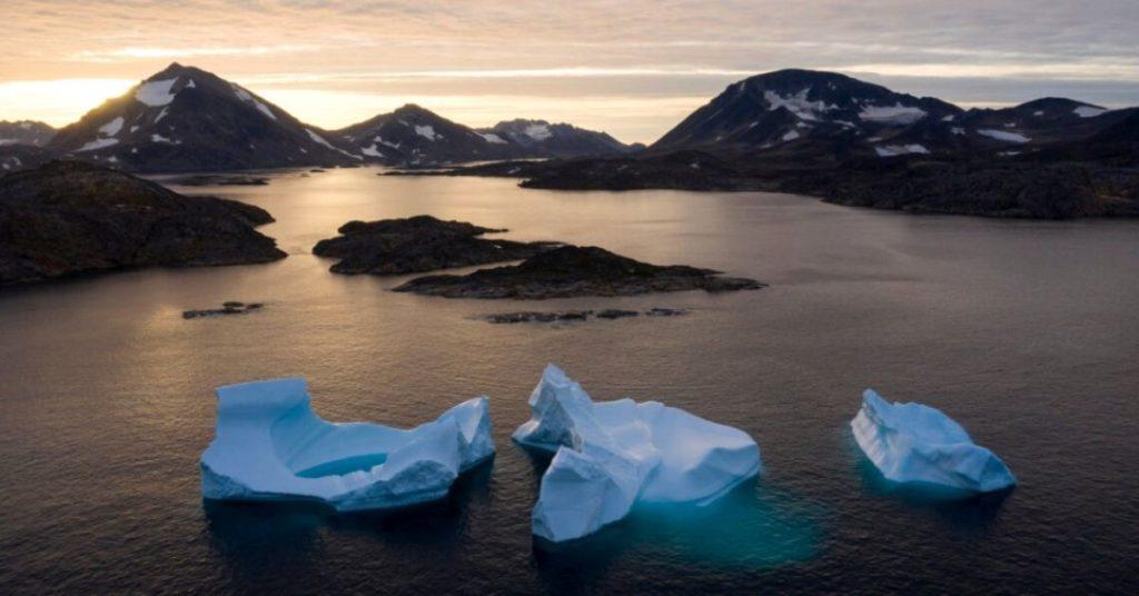 La capa de hielo de Groenlandia