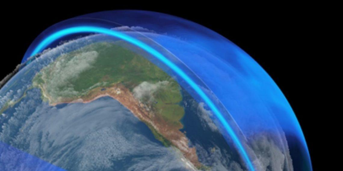 Capa de ozono del planeta