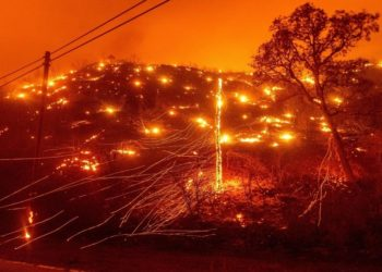 Incendios en California.