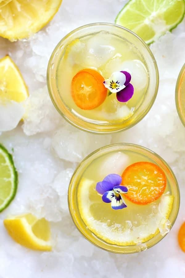 Limonada con pera