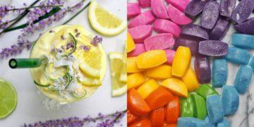 Hacer cubos de hielo de sabores para jugos de frutas