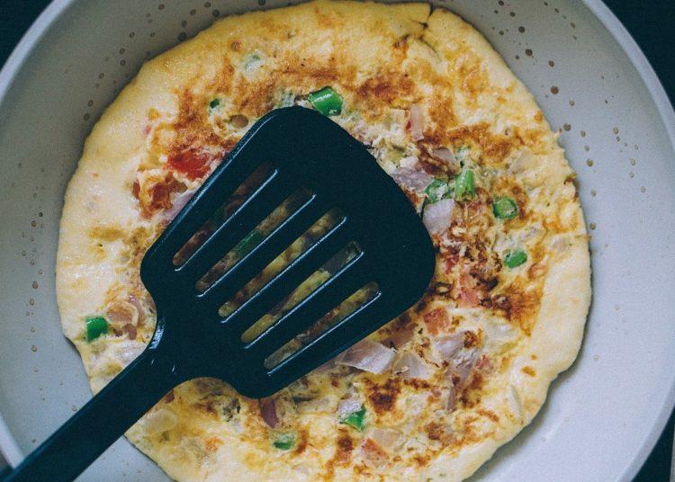 Tortilla de claras de huevo