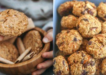 Recetas de galletas saludables, caseras, fitness y sin gluten