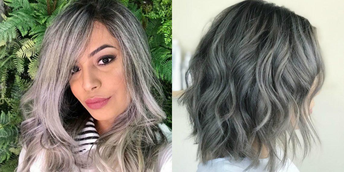 Tendencia de cabello: luces platinadas (mechas) tonalidad rubio ceniza