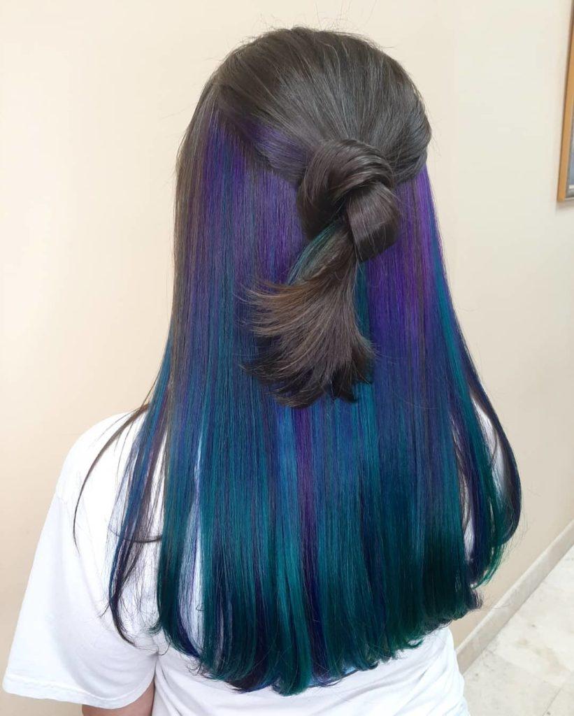 Peekaboo blue