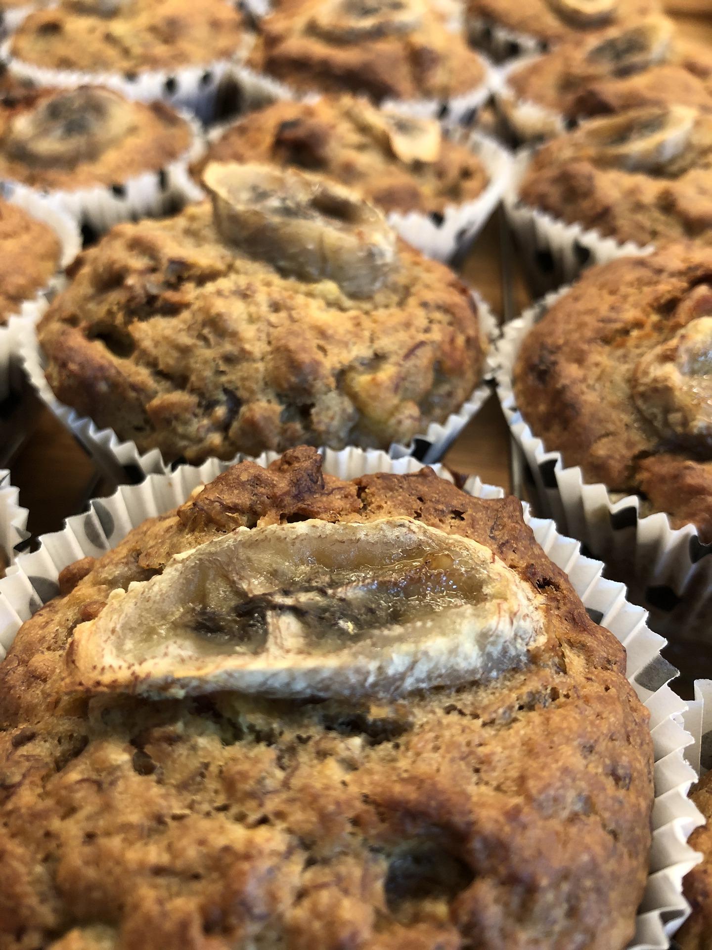 Muffins con banana