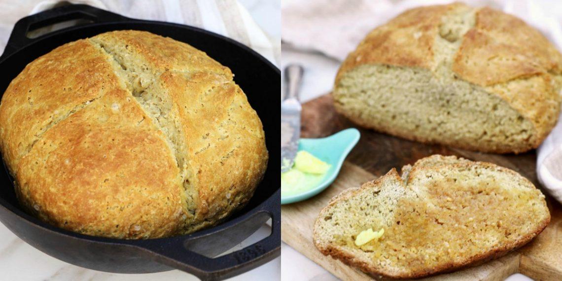 Receta para hacer pan casero sin levadura