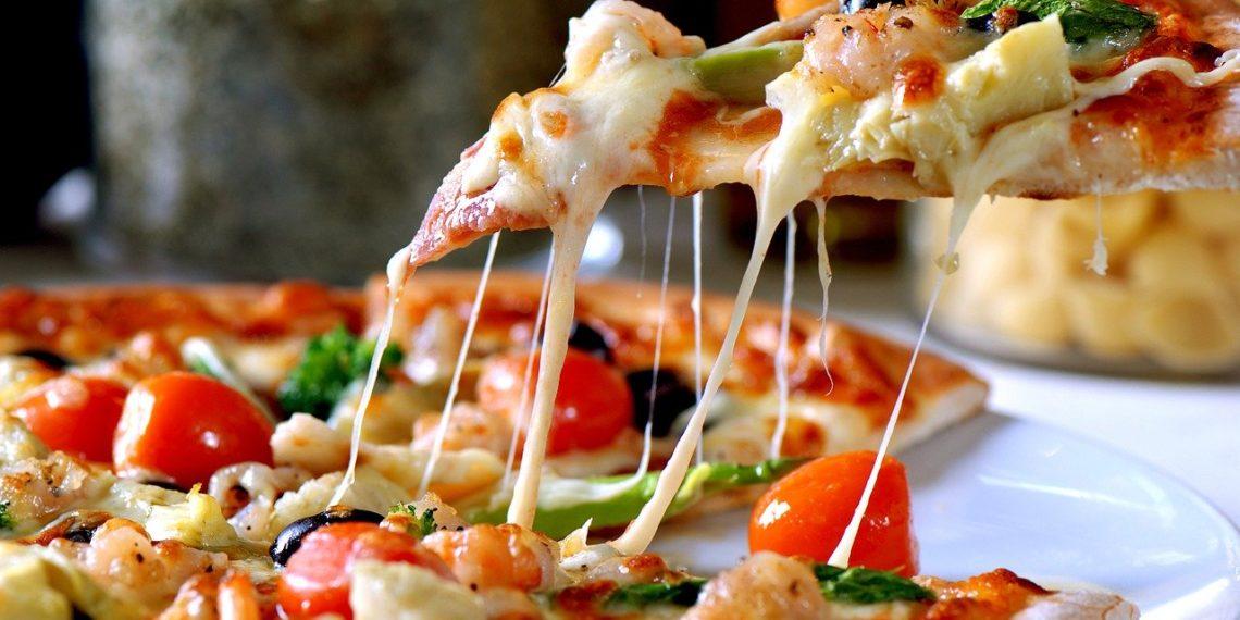 Pizza de coliflor para consumir en la dieta keto