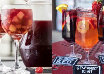 Hacer o preparar receta de sangría sin alcohol