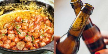 Receta de salchichas en salsa de cerveza