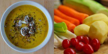 Recetas de sopas de verduras saludables
