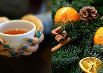 Receta de té de cáscara de mandarina