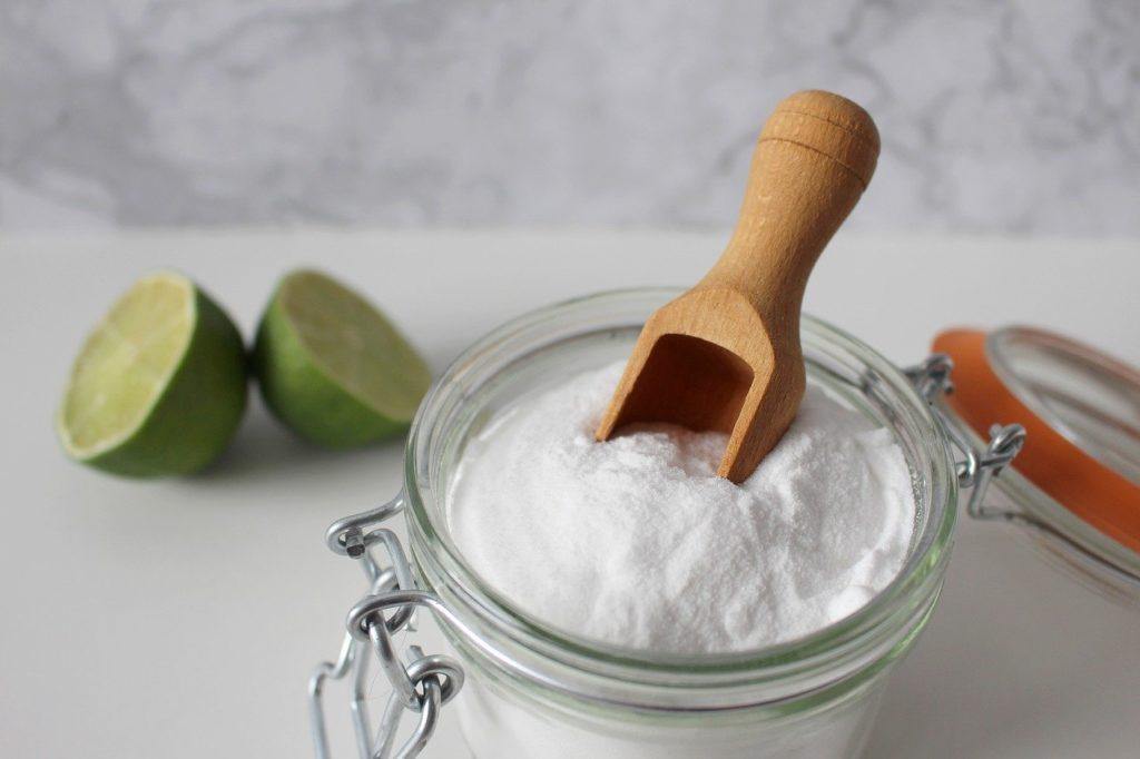 Bicarbonato de sodio para tenis blancos o zapatos blancos