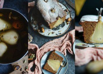 Receta de pastel o torta de pera