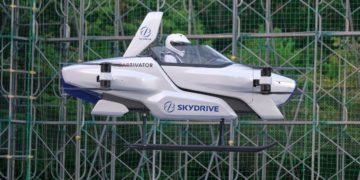 auto volador SkyDrive