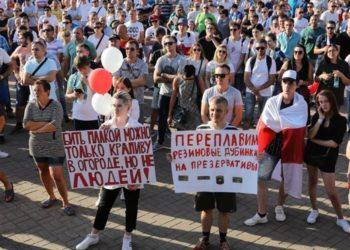 Protestas en Bielorrusia