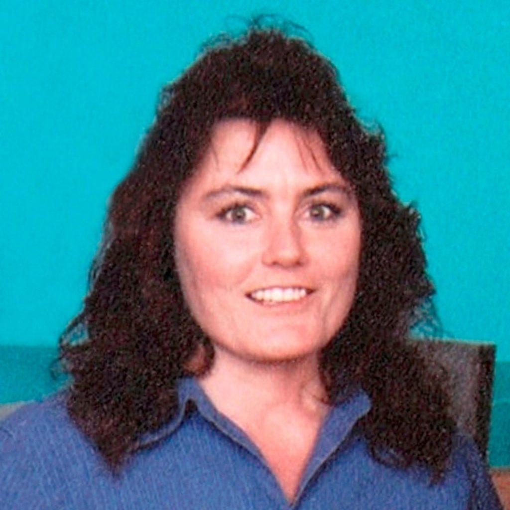 Connie Culp, antes de su trasplante