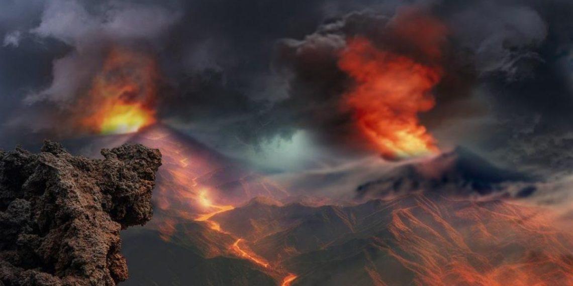 Una fuerte actividad volcánica provocó un gran enfriamiento de la Tierra. Foto: Pixabay